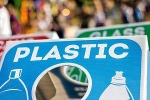 Plastic sign
